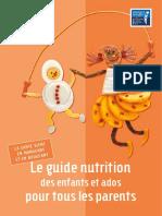 Guide Alimentaire Pour Parent