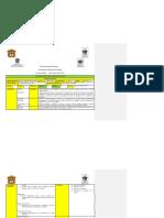 Comentarios del Diseño Estratégico No 4 por parte de compañeros designados en Tabla No 1.