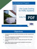 Life Cycle Costing - HVAC