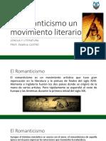 El Romanticismo Un Movimiento Literario