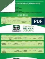 Guías Complementarias (Seminarios) Junio