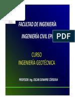 INTRODUCCIÓN INGENIERÍA GEOTECNICA