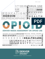 Denver Needs Assessment on Opioid Use