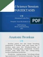 21. CSS Bronkiektasis