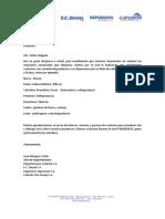 Carta Presentacion Terracargo