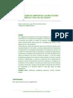 Concepciones de Competencias - Sus Implicaciones en El Curriculo y en El Rol Del Docente
