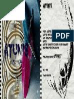 Revista Letrare Atunis Nr 3 4 PDF
