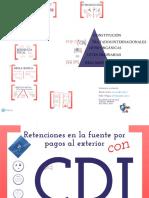 Retenciones Pago Exterior CDI