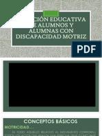 Atención Educativa de Alumnos y Alumnas Con d. m. Dic