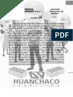 """Plan de Contingencia de Acuerdo a La Ley 28551 LADRILLERA """"HUANCHACO LADRILLOS"""""""
