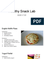 healthy snack lab