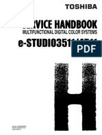Toshiba E Studio 3511 4511 Service Handbook