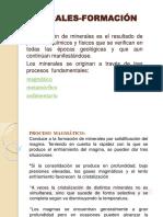 MINERALES-FORMACIÓN