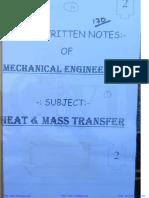 Heat & Mass Transfer (1) - Hand Notes