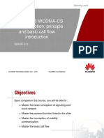 OWG000016 WCDMA-CS Basic Conception,Principle and Basic Call Flow Introduction-modified by 00712925