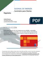Presentación CNE Andrés Romero