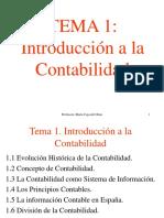 Tema 1. Introducción a La Contabilidad