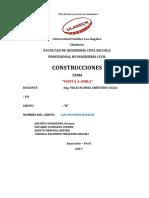 Informe Monografico de Visita a Obra.