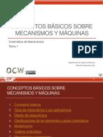 T1_Conceptos Básicos Sobre Mecanismos y Máquinas