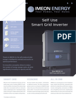 IMEON 3.6 en Smart Grid Inverter