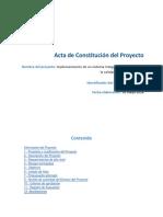 Acta de Constitución Del Proyecto SIMOCAP
