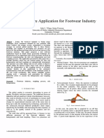 A New Software Application for Footwear Industry