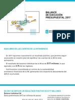 Presentacion Balance 2017