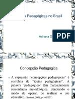 ideias pedagogicas