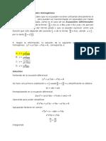 Ejercicio 5. Ecuaciones diferenciales