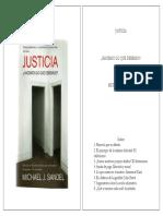 SANDEL Michael - Justicia. Cap. 1, Hacer Lo Que Es Debido Pp. 3 - 48