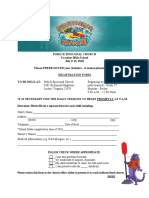VBS Registration 2018