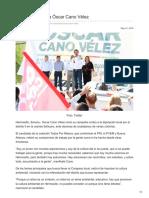 21-05-2018 Arranca campaña Óscar Cano Vélez
