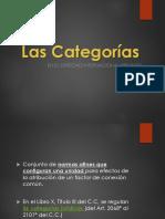 Categorias, Calificación, Factor de Conexión, Reenvío y Orden Público