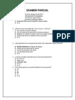 Examen Parcial Propuesto