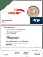 Aspectos Legales SG-SST- Abril 2018