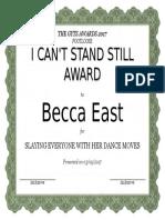 Becca East