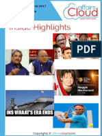 Current Affairs Study PDF - March 2017 by AffairsCloud