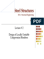 Steel Structures MSc Lecture 2