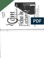 Cómo Elaborar Ficha de Lectura J Gonzalez