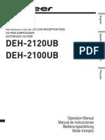 Deh-2120ub Manual en Fr de Es