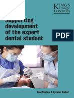 Supporting Development of the Expert Dental Student