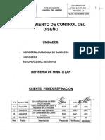 P4U0QZUPR-001 Control de Diseño