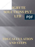 TDS Calculation and Steps