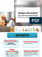 Alergia Alimentara Studenti