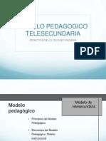Modelo Pedagógico Telesecundaria