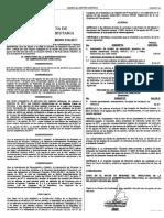 Acuerdo de Directorio 10 2011. Reforma El Acuerdo de Directorio 11 2001 Sobre Los Bienes y Servicios a Cargo Del Registro Fiscal de Vehículos