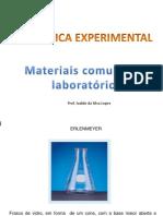 Materiais Comuns de Laboratório Lic Quim e Tecnoalim