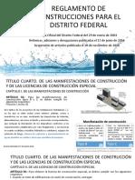 Reglamento de Construcciones Para El Distrito Federal_Sistemas Alternativos