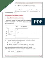 Chapitre i .Notions d Aerothermodynamique 1