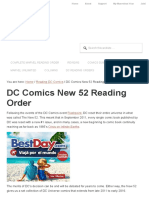 DC New 52 Reading Order _ Complete Comics Checklist & Guide! _ Comic Book Herald